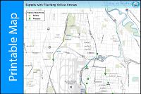 image regarding Printable Map of Seattle titled Printable Maps Metropolis of SeaTac